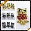 Fashion Charm Owl Rhinestone Jewelry Finding (RF009)