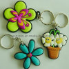 Flower Plastic Key Holder (ASKQ-KC-010)