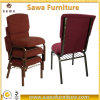 Good Connected Stackable Worship Seating Burgandy Church Chairs