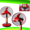 16 Inches DC 12V Rechargeable Fan Solar Table Fan FT-40DC-H3)