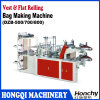 Double Layers Pointing Cutting Bag Making Machine