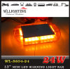 Amber 24 LED Mini Light Bar with Magnet Mounted