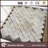 Cheap 305X305 Herringbone Carrara White Marble Mosaic Tile for Wall