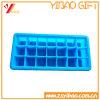 Whosale 21 Cells Custom Colorful Silicone Ice Cube Tray/Ice Maker/Ice Mold