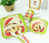 Natural Bamboo Fiber Tableware Set for Kids (YK-BS1001)