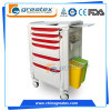 ABS Anaesthesia Trolley, Medical Cart with Wheels (GT-TA3810)