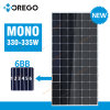 Morego Newest 6bb Mono Solar Panel 320W 330W 335W