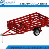4X8 Utility Folding Trailer with Cage