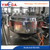 Big Capacity and Small Capacity Pressure Steam Jacketed Induction Vessel