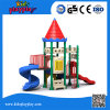 Attractive and Fantastic Outdoor Children Kids Playhouse Plastic Product Structure for Kids Playing Areas