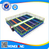 Best Play Zone-Large Trampoline Park with Basketball Hoop
