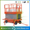 10m Cargo Type Electric Hydraulic Scissor Lift with Platform Ce