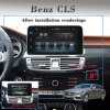 Anti-Glare Carplay Benz Glc/C/V Android 2+16g Car Stereo Phone Connections