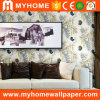 Beautiful Non-Woven Paper Scenery Luxury Wallpaper for Room Decoration