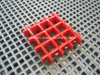 FRP Fiberglass Reinforced Plastic Grating with Concave Surface