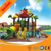 Xiujiang 2016 New design Outdoor Playground Plastic Double Slide
