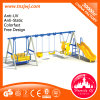 Gym Small Kids Plastic Slide and Swing