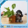 OEM Polyresin Flower Pot on Table or Garden Decoration