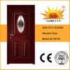 Modern Interior Wood Door with Glass Designs (SC-W132)