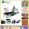 Large Size Atc 4.5kw/6kw/9kw Hsd Furniture Door Engraving CNC Router Machine Door Cutting