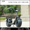 2016 New Two Wheel 1000W 60V City Coco Electric Scooter Electrical Mobility Scooter for Youth