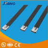 UL PVC Coated Stainless Steel Cable Ties Made of 316