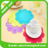 Custom Special Flower Silicone Rubber Coaster for Promotion Gifts