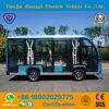 Battery Powered 11 Passengers Sightseeing Car for Resort
