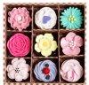 Lovely Christmas & Valentine′s Day Gift Set 9 in 1 Lip Balm
