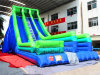 Channal Two Lanes Giant Inflatable Slide for Adults and Kids