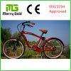 Men Brushless Gear Motor Beach Cruiser Electric Bike 36V 250W