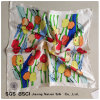 The Tulip Digital Printed Pure Silk Twill Scarves