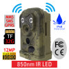 Ere-E1s 12MP 1080P PIR Motion Detection Optional 940nm 850nm Camo Scout Guard GSM MMS Hunting Trail Camera