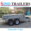 300mm Sides Adr 9*5 Box Trailer for Australia Market