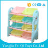 Factory Directly Supply High Quality Pleasant Pack Frame Plastic Kids Toys Storage Rack Kid Toy