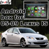 Android 5.1 4.4 Navigation Box for Lexus Is250 Is350 2005-2009 Video Interface Rear and 360 Panorama Optional