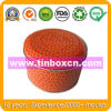 Metal Round Container, Tin Can, Food Tin Box