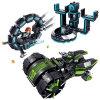 1486602-365PCS Building Blocks Future Police Super Heroes Action Figure Playmobil Educational Toys
