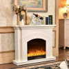 Modern MDF LED Lights Heater Electric Fireplace with Ce (344)