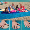 Outdoor Folding Durable Fashion Sand Free Beach Mats