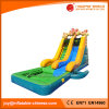 Volcano and Fire Slide Water Slide with Pool (T11-104)