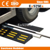 2 Channels Durable Rubber Fire Safety Hose Ramp