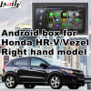 Android 5.1 4.4 GPS Navigation System for Honda City Fit/Jazz Odyssey Hr-V Civic Right Hand Video Interface Touch Android System Rear View Mirror Link