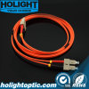 Fiber Optical Patch Cord Sc to Sc Multimode Duplex Orange