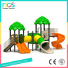 Jungle Style Children Outdoor Play Ground with Tube Slide