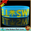 Custom Company Website Silicone Wristband