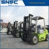 Diesel Forklift Capacity 3000kgs 3t 6613lbs Isuzu C240 Engine
