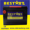 American Market Car Battery 650CCA Electric Vehicle Battery Bci 75