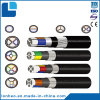 Low Voltage Aluminium Conductor PVC Insulation Steel Wire Armoured PE Sheathed Power Cable