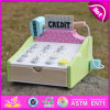 New Design Children Preschool Wooden Toy Credit Card Machine W10A059